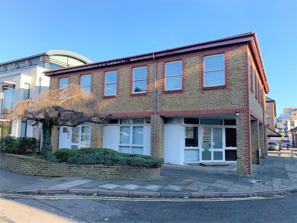 1 Becketts Place, Kingston, Two storey building, 1st floor office to let