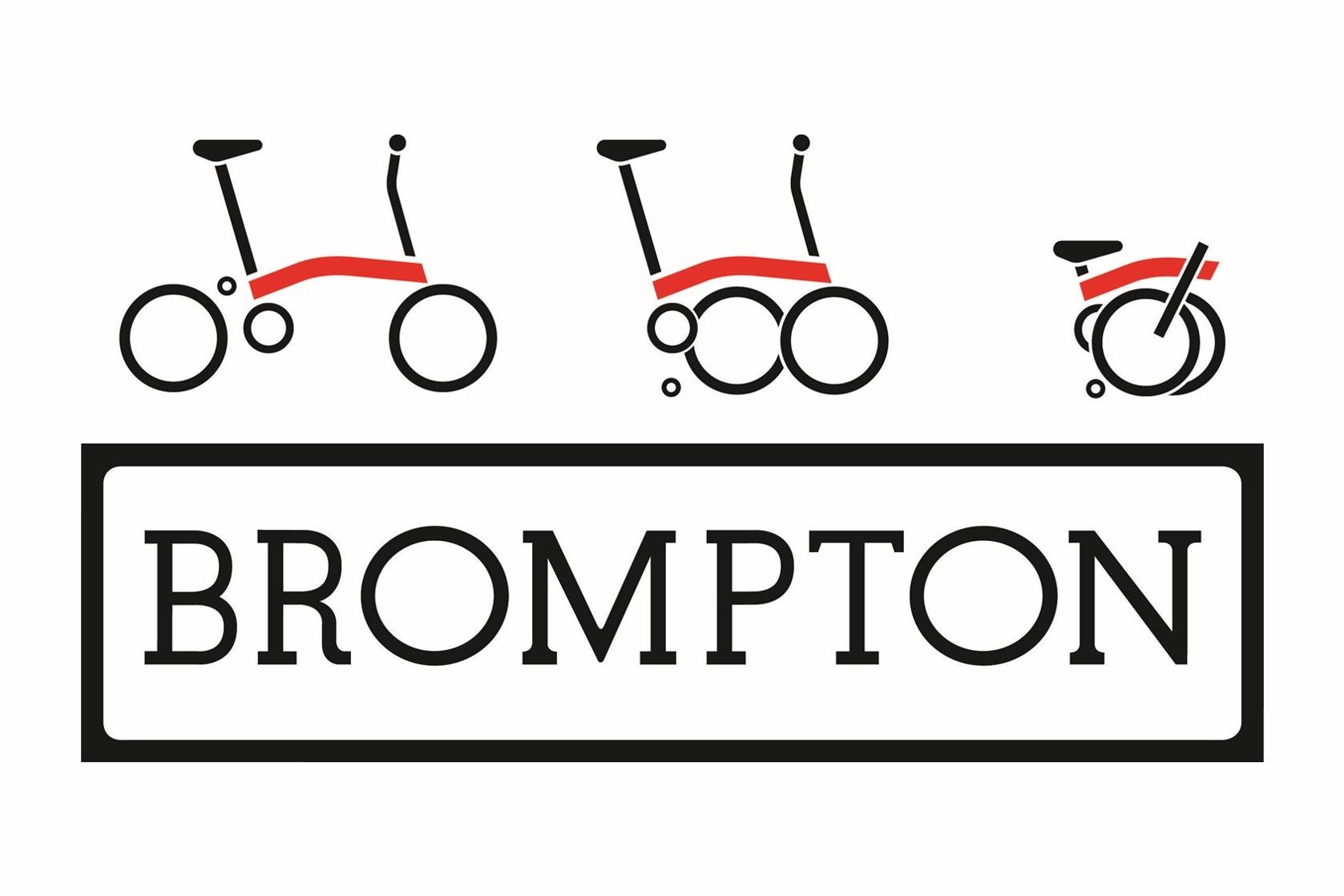 Brompton Bikes Logo - Vokins